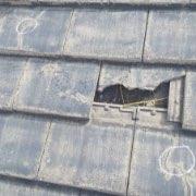 瓦のヒビ、割れ01
