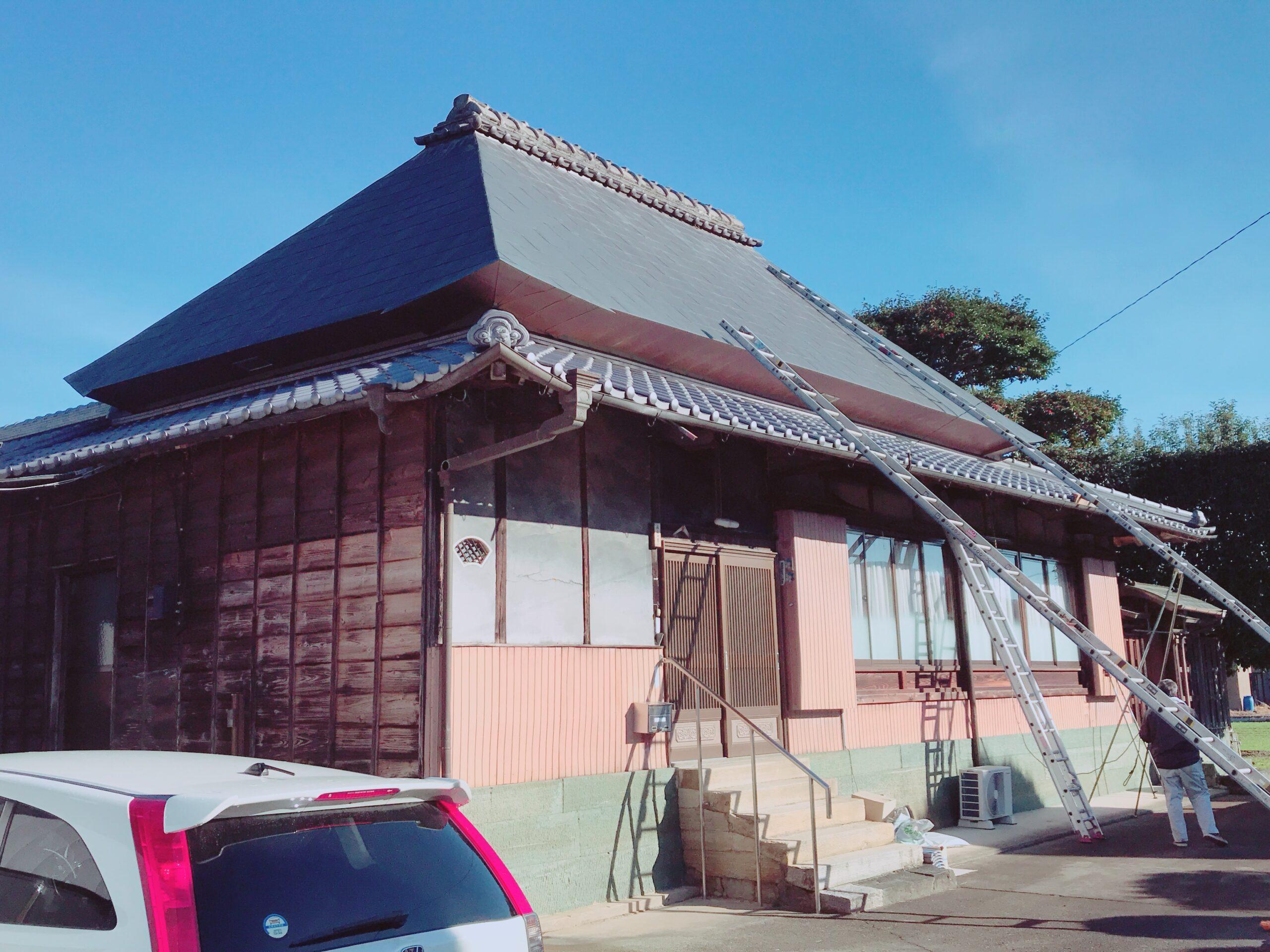 屋根瓦葺き替え(リフォーム)工事
