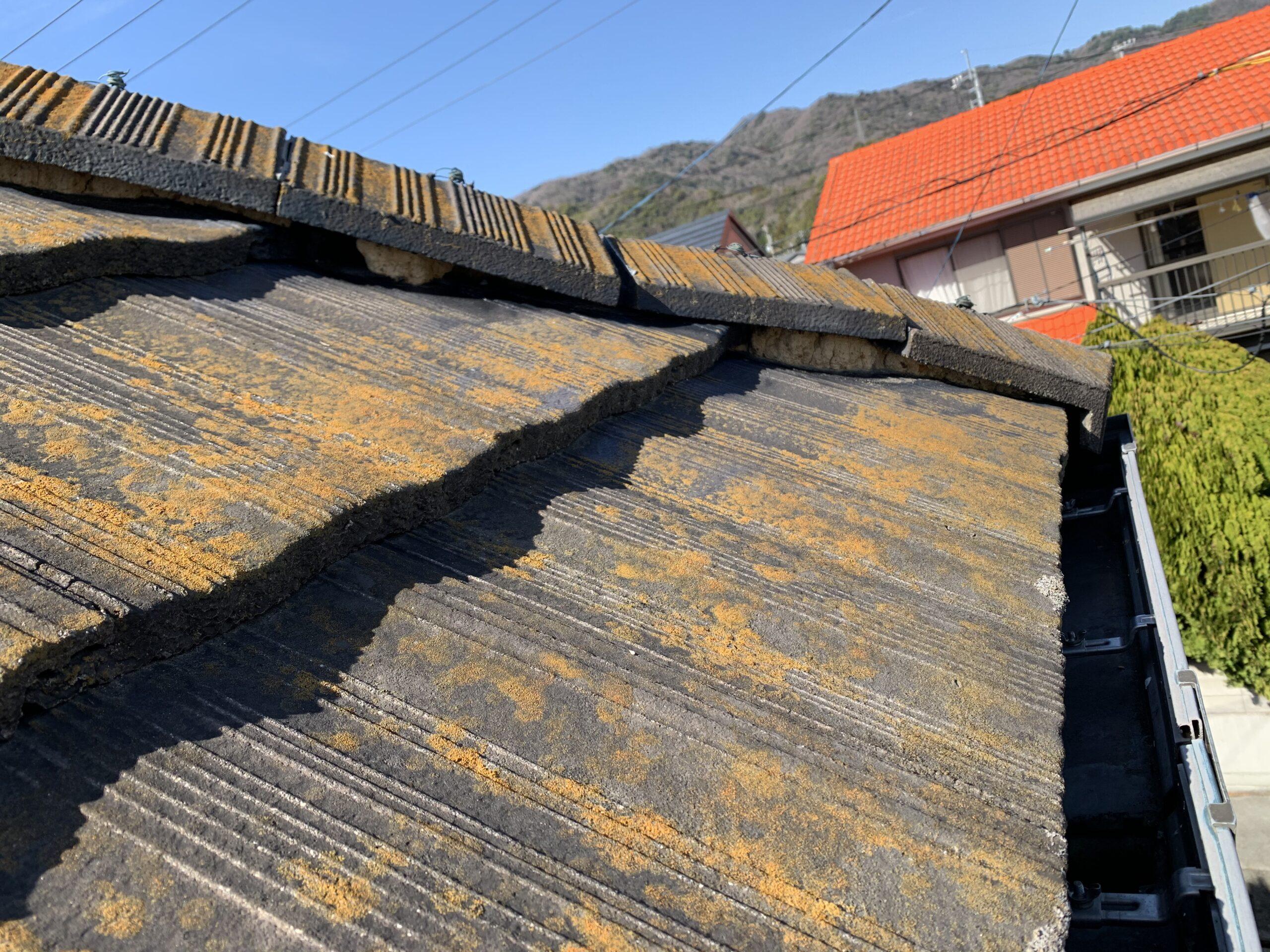 屋根の点検(瓦のずれ)