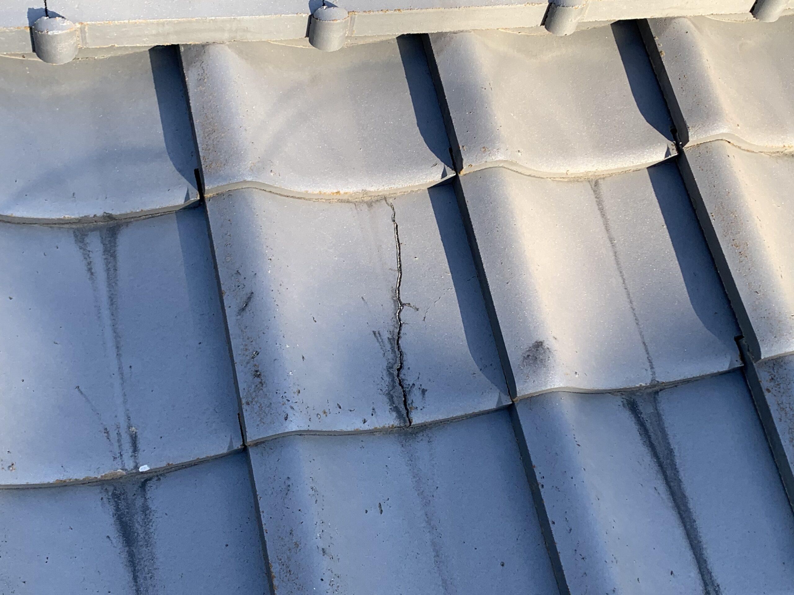 屋根修理(割れ瓦取り換え)
