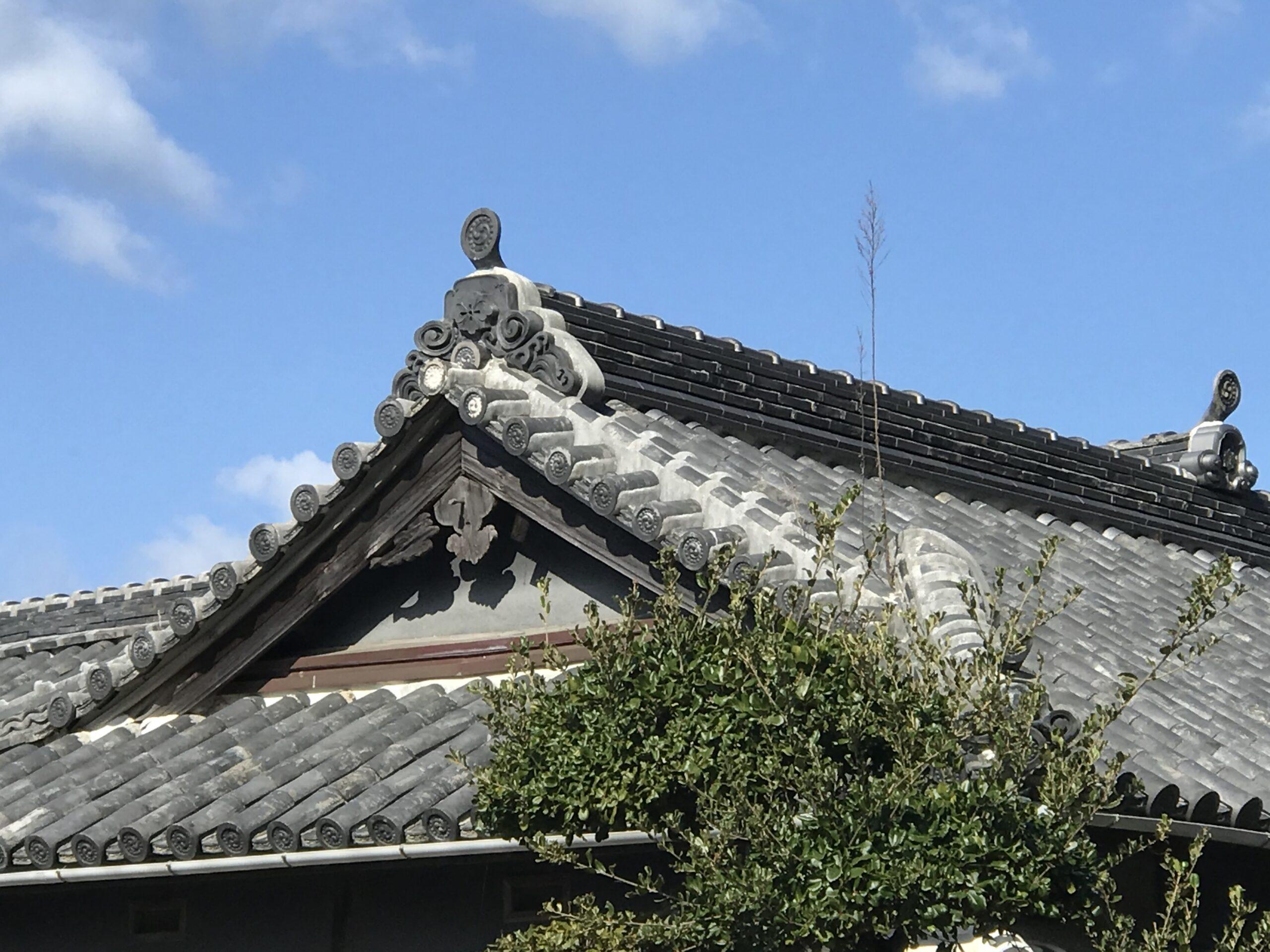 古民家の屋根修理もお任せ!!