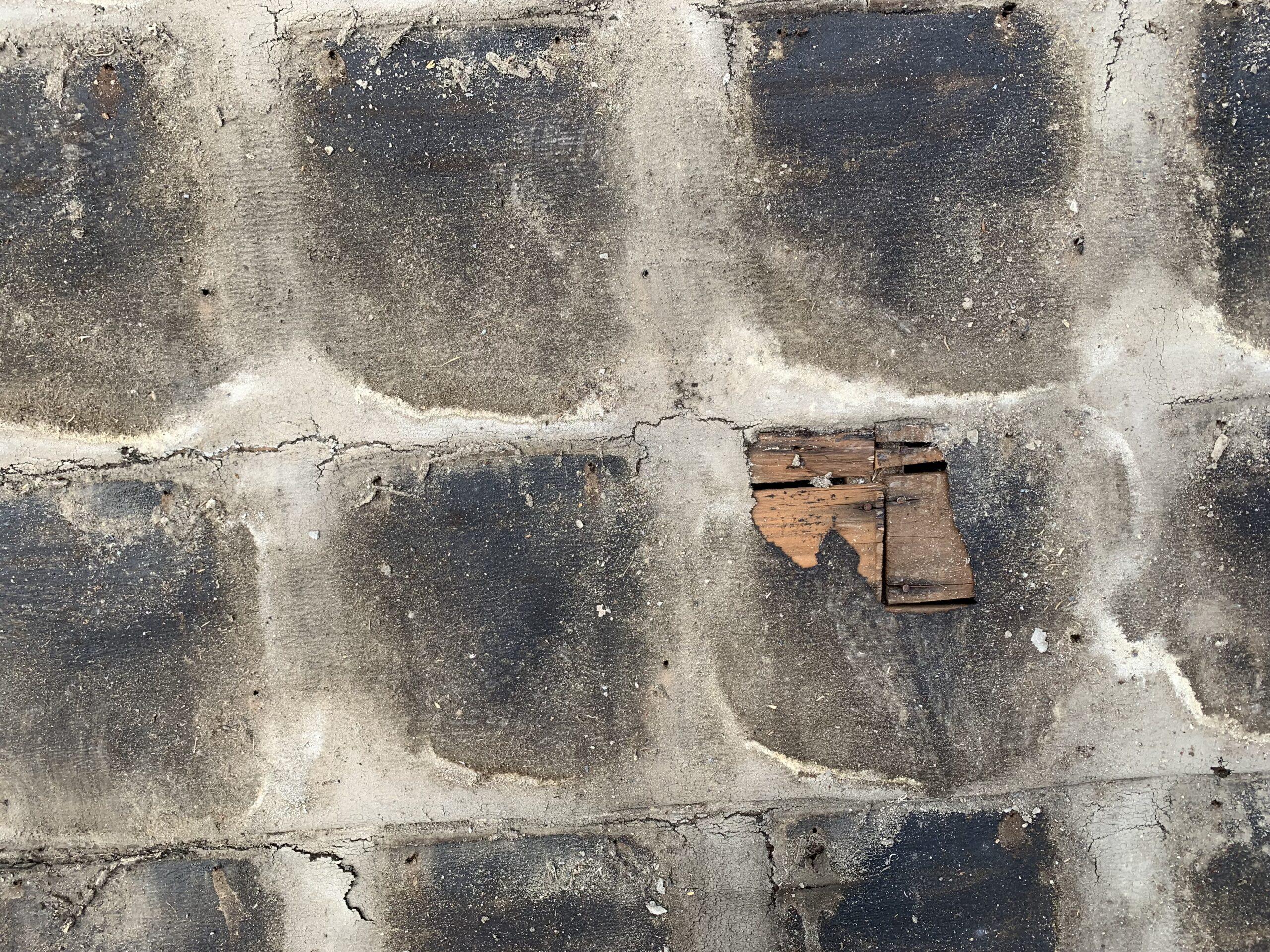 屋根瓦葺き替え工事③瓦撤去処分