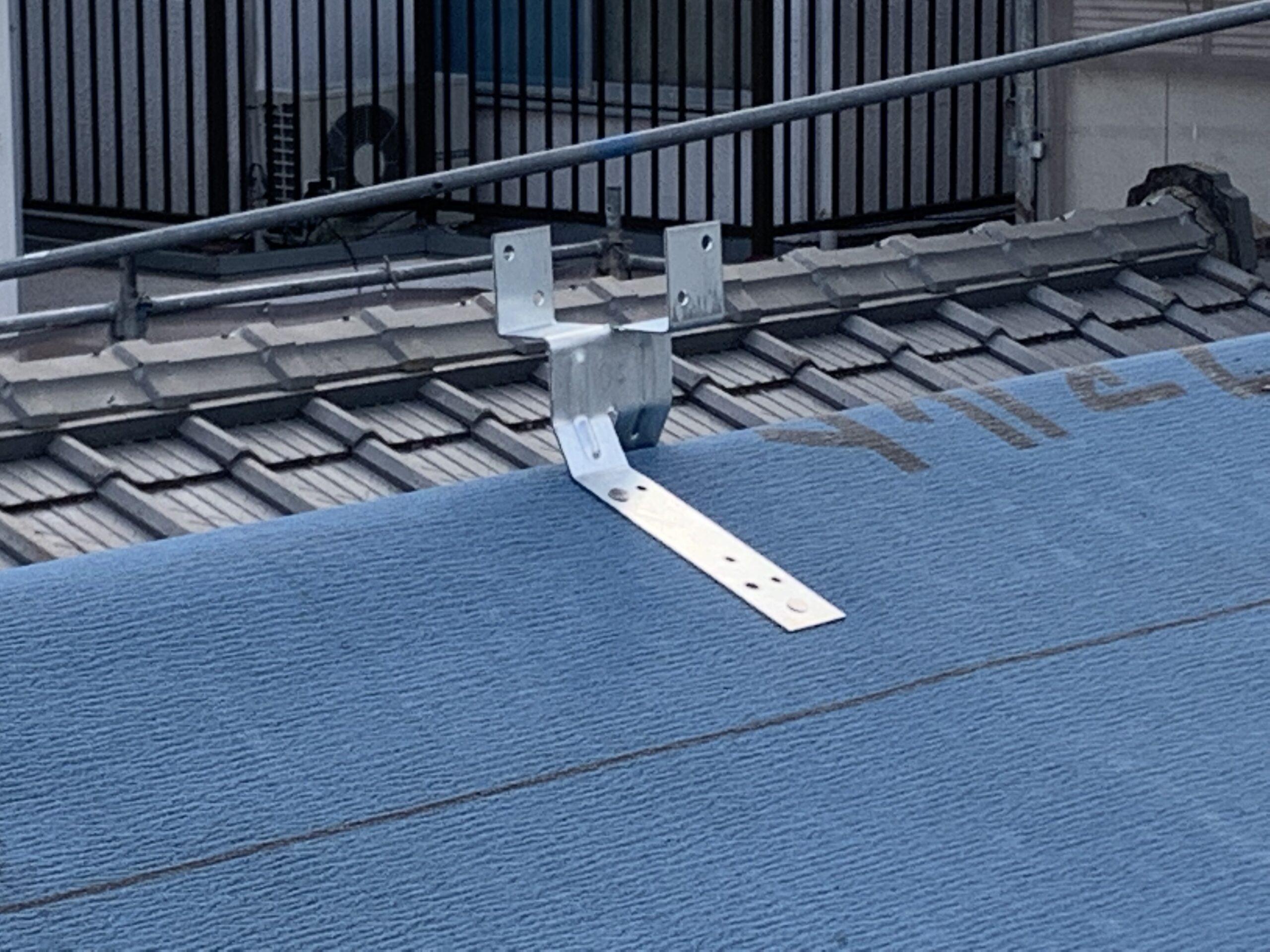 屋根瓦葺き替え工事⑥瓦ふき作業