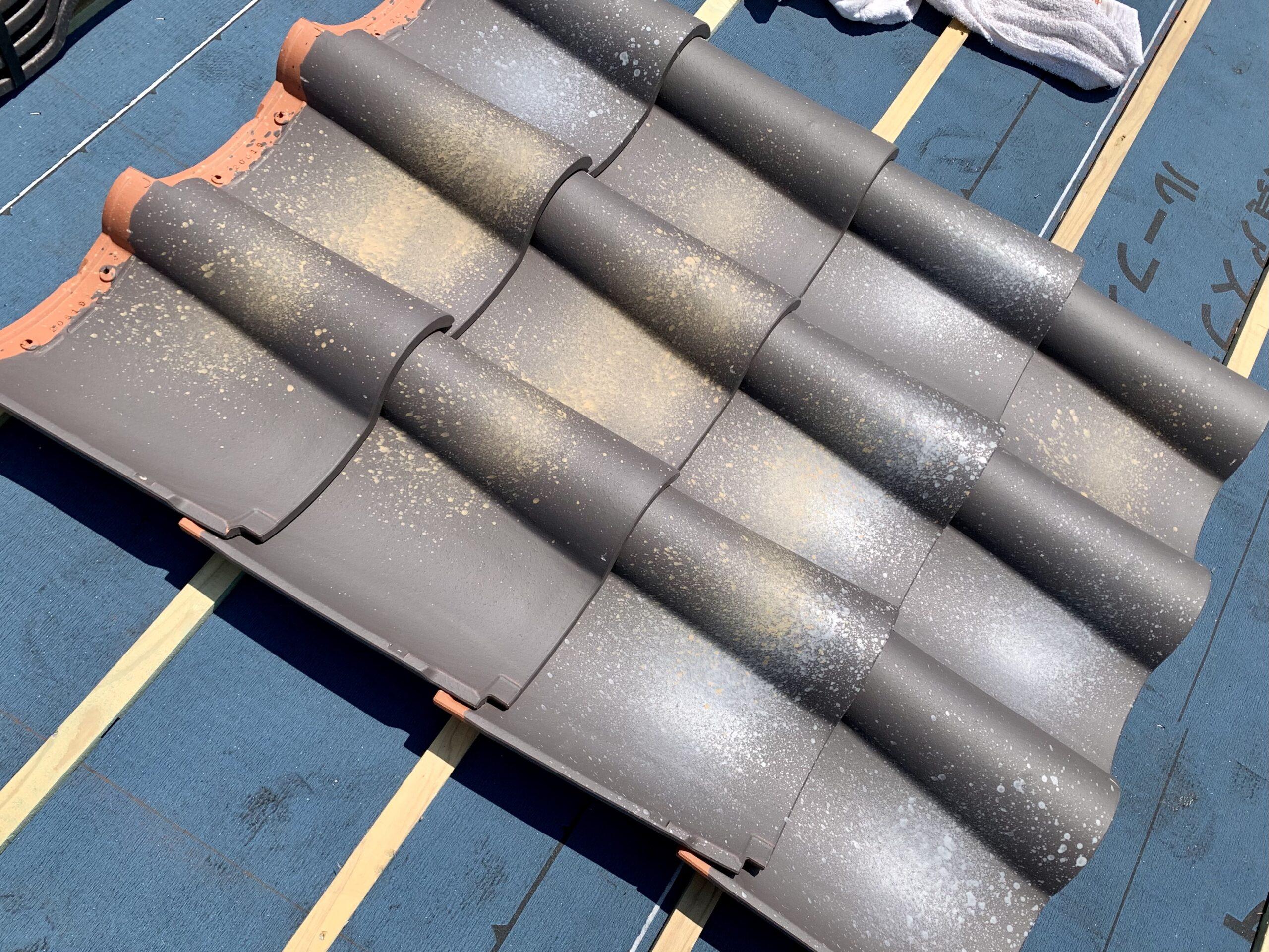 屋根瓦工事
